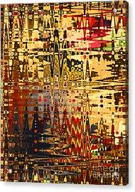 Harvest Dawn Acrylic Print by Diane E Berry