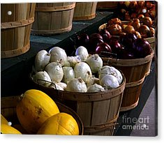 Acrylic Print featuring the photograph Harvest by Elfriede Fulda