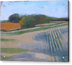 Harvest Fields Acrylic Print