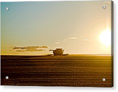Acrylic Print featuring the photograph Harvest by Gary Smith