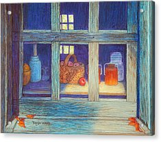 Harvest Kitchen Acrylic Print