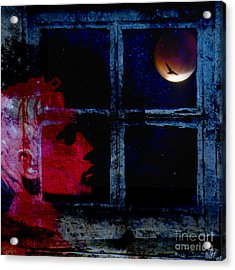Acrylic Print featuring the photograph Harvest Moon by LemonArt Photography