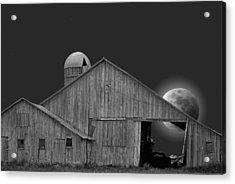 Harvest Moon Acrylic Print by Maria Dryfhout