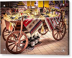 Harvest Time Acrylic Print by Claudia M Photography
