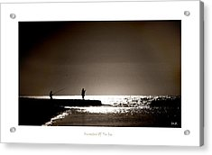 Harvester Of The Sea Acrylic Print by Martina  Rathgens