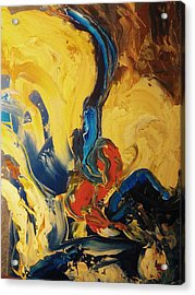 Acrylic Print featuring the painting Harvey by Ray Khalife