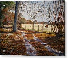 Harwell Farm Acrylic Print