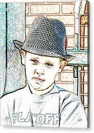 Hat Of A Hero Acrylic Print by Lynn Reid