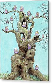 Hatchlings Acrylic Print by Charles Cater