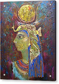 Hathor. Goddess Of Egypt Acrylic Print
