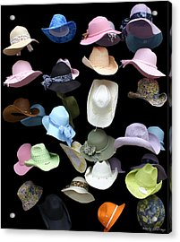 Hats Off Acrylic Print