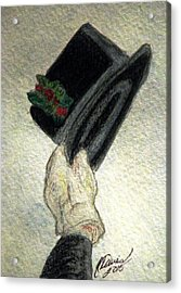 Hats Off To The Holidays Acrylic Print