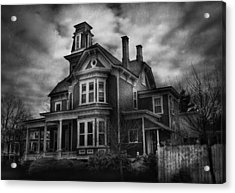 Haunted - Flemington Nj - Spooky Town Acrylic Print by Mike Savad