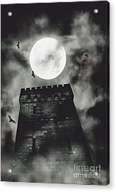 Haunted Dark Castle Acrylic Print by Jorgo Photography - Wall Art Gallery