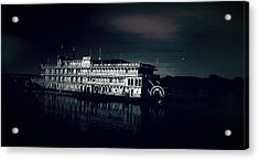 Haunted Dinner Cruise On The Columbia River  Acrylic Print by Lisa Kaiser