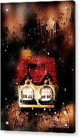 Haunted Doll House Acrylic Print