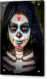 Haunted Eyes Acrylic Print