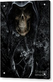 Acrylic Print featuring the photograph Haunted Forest by Al Bourassa