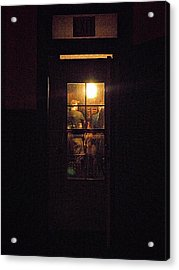 Haunted House 4 Acrylic Print by William Horden