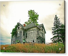 Haunted House Acrylic Print by Todd Klassy