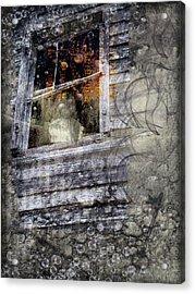 Haunted Impressions Acrylic Print by Nadine Berg