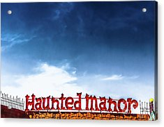 Haunted Manor  Acrylic Print by Colleen Kammerer