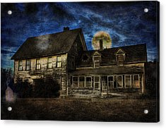 Haunted Nights Acrylic Print by Gary Smith