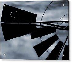 Haunted Windmill Acrylic Print by Tony Grider