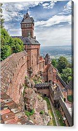 Acrylic Print featuring the photograph Haut-koenigsbourg by Alan Toepfer