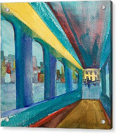 Havana Arches II Acrylic Print by Lynne Bolwell