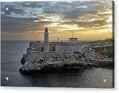 Havana Castillo 2 Acrylic Print