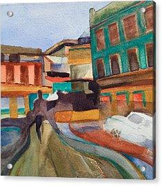 Havana Centro Acrylic Print by Lynne Bolwell