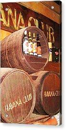 Havana Club Acrylic Print by Yury Bashkin