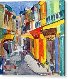 Havana Colors Acrylic Print by Lynne Bolwell