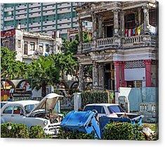 Acrylic Print featuring the photograph Havana Cuba by Charles Harden