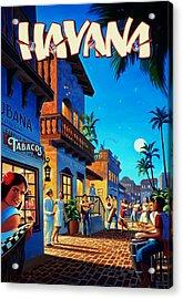 Havana Cuba Acrylic Print by Mark Rogan