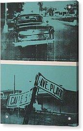 Havana Five Acrylic Print by David Studwell