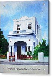 Havana House Acrylic Print
