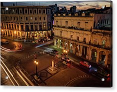 Acrylic Print featuring the photograph Havana Nights by Joan Carroll