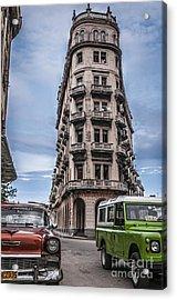 Havana Old Cars Acrylic Print