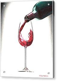 Have A Glass Acrylic Print by Ashley Macinnis
