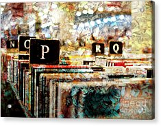 Have You Read? Acrylic Print