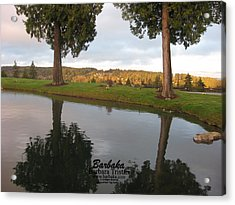 Acrylic Print featuring the photograph Haven Of Rest by Barbara Tristan