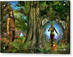 Haven Acrylic Print by Shadowlea Is