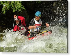 Having Fun In Whitewater Acrylic Print
