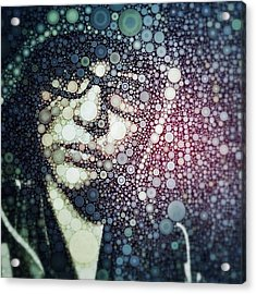 Having Some #fun With #percolator :3 Acrylic Print by Maura Aranda
