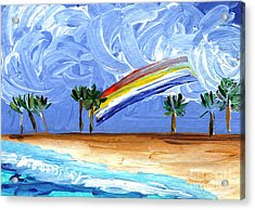 Hawaii 25 Acrylic Print by Helena M Langley