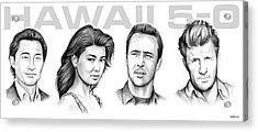 Hawaii 5 0 Acrylic Print