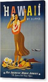 Hawaii By Clipper Acrylic Print