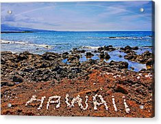 Acrylic Print featuring the photograph Hawaii by DJ Florek
